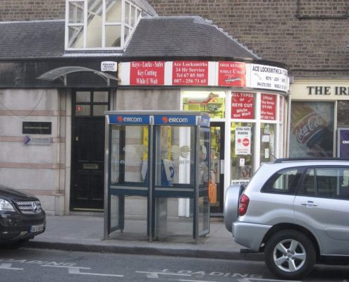 An Image about our company Ace Locksmiths and it's whereabouts